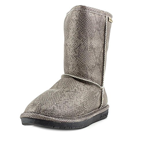 BEARPAW Damen Emma Short Snow Boot Dunkle Schlange