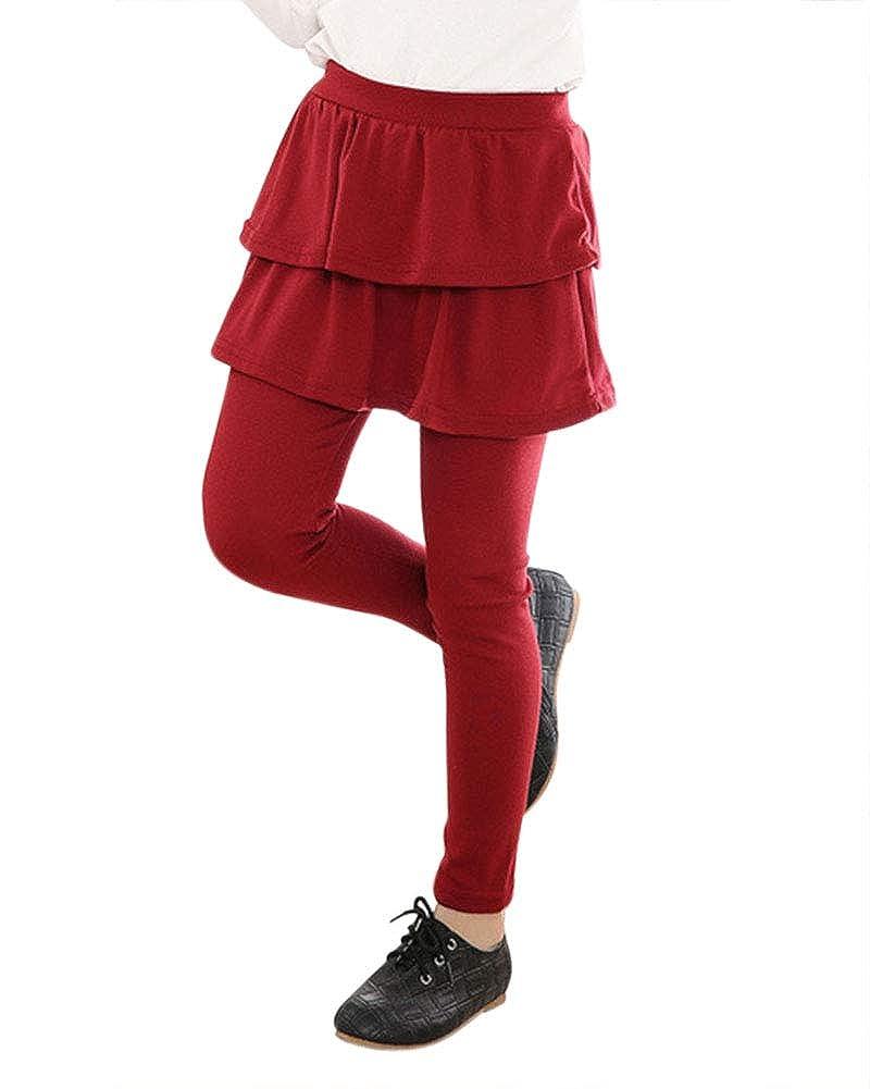 Shaoyao Elástico Leggings Leggins Pantalones De Niñas Falda Guapa ...