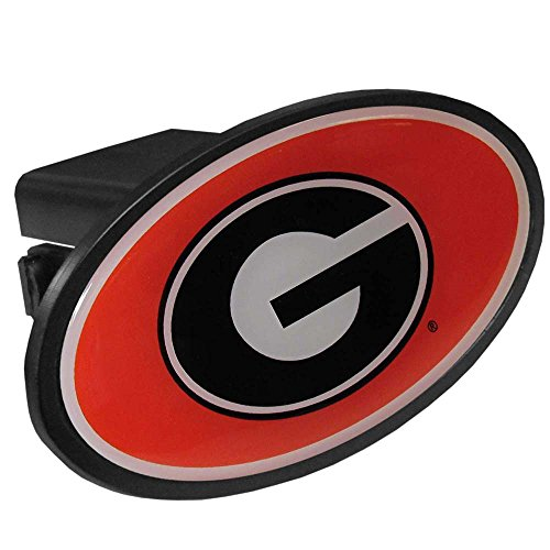 Georgia Bulldogs Trailer Hitch Cover (NCAA Georgia Bulldogs Plastic Hitch Cover Class III)