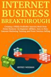 Internet Business Breakthrough:  Creating a Wildly Profitable Internet Work from Home Business via Beginner Affiliate, Zero to Hero Internet Marketing Training and Fiverr Services Selling