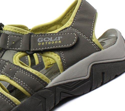 Gola 2014 Shingle 2 Sandales De Sport Pour Lextérieur Des Femmes Gris / Jaune