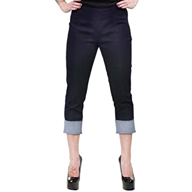 Women s Sourpuss Clothing Pedal Pusher Pants M at Amazon Women s Clothing  store  9cc0498af4
