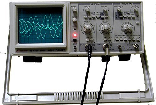 - Sinometer 20MHz Dual Channel Oscilloscope, YB4328
