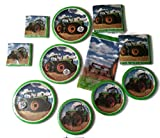 Tractor Time Birthday Party Bundle Plates Napkins Cups Party Kit for 24