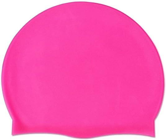 Bonnet de Bain Silicone Natation Piscine Plage Divers Coloris