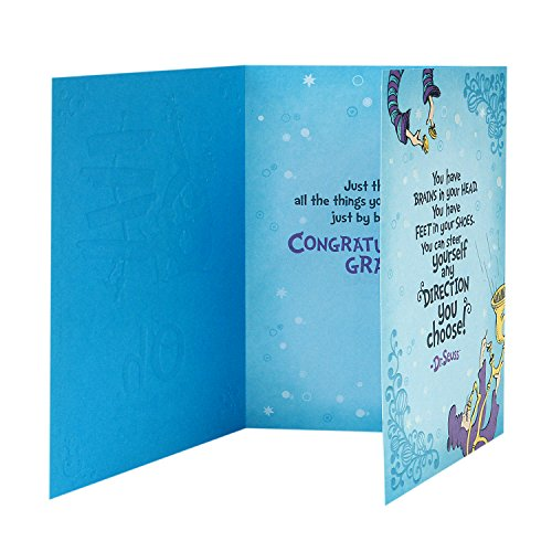 Hallmark Graduation Greeting Card (Dr. Seuss Oh, The Places You'll Go) Photo #6