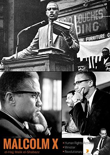 777 Tri Seven Entertainment X Malcolm Poster Human Rights Activist Black History Photos Print