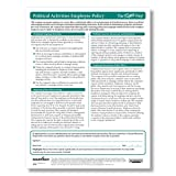 ComplyRight Political Activities Employee Policy Pack of 25