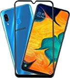 E-world Samsung Galaxy A50 5D Full Glue Cover Tempered Glass Screen protector