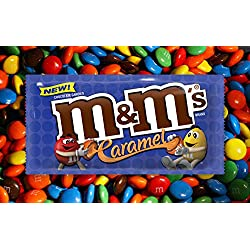 Caramel M&M's Chocolate - Bulk Unwrapped Wholesale (5 Pounds)