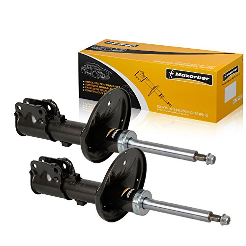 Maxorber Front Pair Shocks Struts Absorber Compatible with Mitsubishi 3000GT 1991-1999 Shock Set Replacement for Dodge Stealth 91-96 Shock Absorber 335013 72172 ()