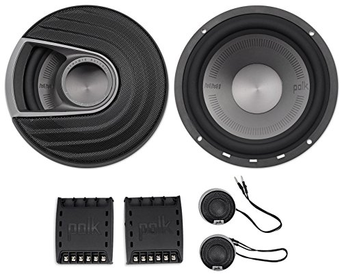 Marine Component Speaker System (Polk Audio MM1 Series 6.5 Inch 375W Component Marine Boat ATV Speakers System)