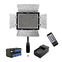 Yongnuo YN-300 III 3200k-5500K CRI95 Camera Photo LED Video Light with NP-F750 Battery + Charger Photo Studio lighting Lamp