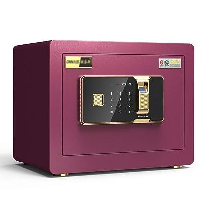 Cajas fuertes Hogar seguro pequeña contraseña invisible oficina seguro anti-robo huella digital mini caja