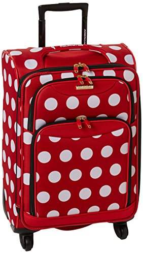 Red Polka Dot Luggage: Amazon.com