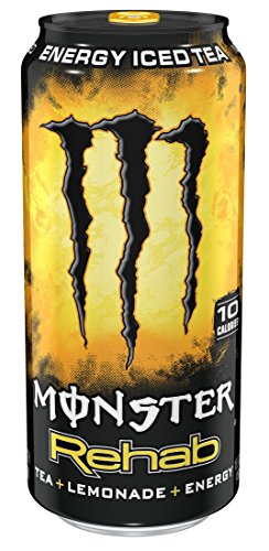 Monster Rehab, Tea + Lemonade + Energy, 15.5 Ounce (Pack of 24) 51lFPG6tQ0L