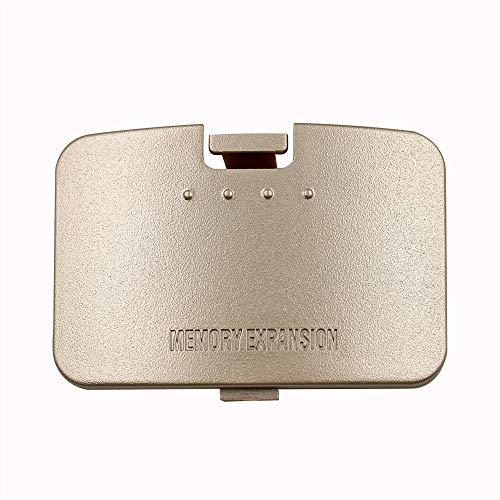 Mcbazel N64 Expansion Pak Memory Card Slot Cover Gold