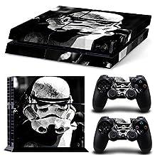 GoldenDeal PS4 Console and DualShock 4 Controller Skin Set -Star Warrior - PlayStation 4 Vinyl