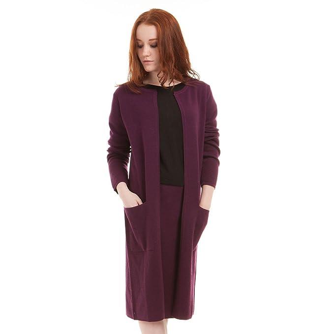 buy online 1d3ae 2e7c4 Brunella Gori Cardigan Lungo Elegante Senza Chiusura Bottoni ...