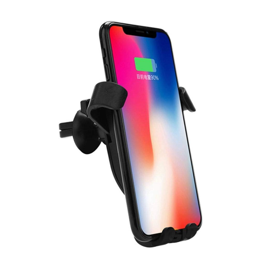 W5 MOUNTING: Quick and Easy Slide-in Phone Mount Allows for a Secure Hands-Free Experience Sendem Vent Wireless Charging Phone Holder//Car Mount Quality Material.