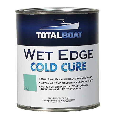 old Cure Marine Topside Paint (Sea Foam, Quart) ()