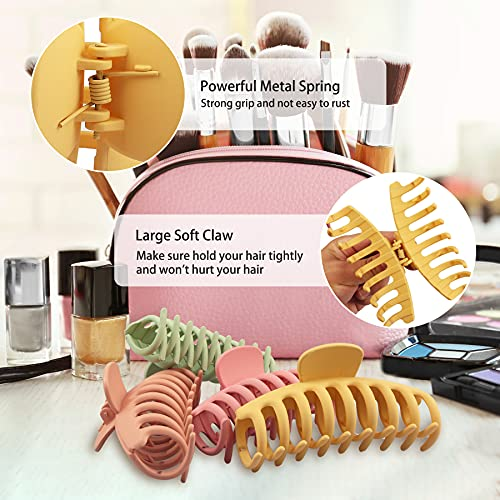 Beauty.H.C 8 PCS Large Hair Claw Clips 4.33