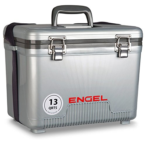 ENGEL Cooler/Dry Box 13 Qt - Silver