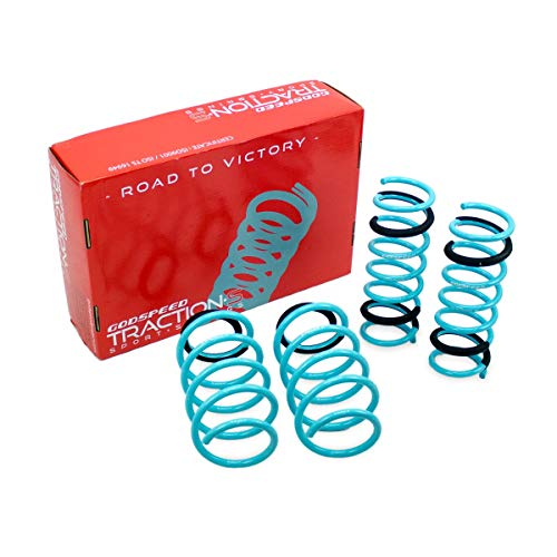 - LS-TS-FD-0007 Traction-S Performance Lowering Springs for ford Focus SE/SEL/TITANIUM FWD 2014-19