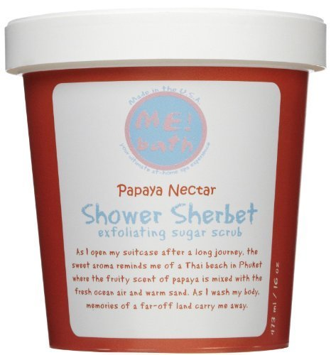 Bath Papaya Nectar - ME! Bath Papaya Nectar Shower Sherbet, 16 oz.