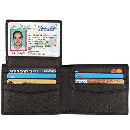 闪购! 销量第一真皮防RFID盗读皮夹$11.99!