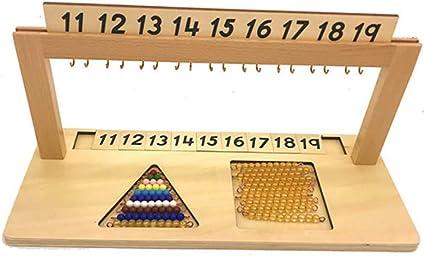 Jeux Educatif Enfants Montessori Perles Matériel Mathématiques