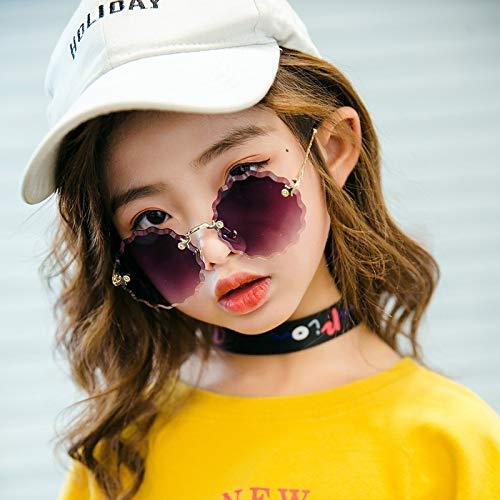 Moda 2019 gafas de sol sin montura para niños Gafas de sol ...