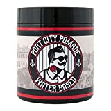 Port City Pomade Water Based MEDIUM HOLD Pomade - Unorthodox All-Natural Hair Styling Clay and Pomade for Men (4 ounce - Medium)