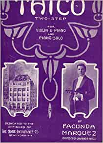 Thico Two-Step for Violin and Piano and Piano Solo