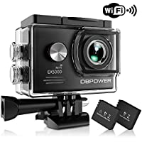 DBPOWER EX5000 Action Camera , 14MP 1080P HD WiFi...