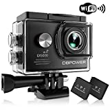 DBPOWER EX5000 Action Camera , 14MP 1080P HD WiFi Waterproof Sports Cam 2