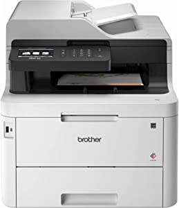 Brother Mfc-L3770CDW Color All-in-One Laser Printer with Wireless, Duplex Printing and Scanning, Black