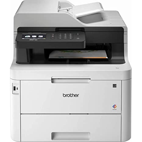 Brother Mfc-L3770CDW Color All-in-One Laser Printer with Wireless, Duplex  Printing and Scanning