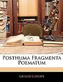 Posthuma Fragmenta Poematum, George Coryate, 1142569306
