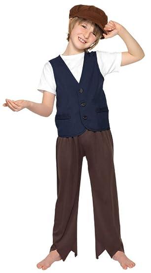 Smiffys Traje de Carnaval pobre Muchacho era Victoriana película de Disney Mary Poppins niño