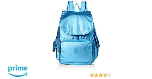 Amazon.com: Kipling City Pack Turkish Tile Metallic Backpack, TKSHTLMTLC: Clothing