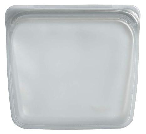 Stasher 971 - Bolsa reutilizable para sándwiches de platino ...