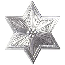 Kunze Dresden Star or Halo, Large, Silver