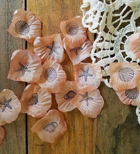 Beach Wedding Decor, Coral Wedding, Flower Girl Petals, Wedding Rose Petals, Aisle decorations, Beach party Centerpiece, Table decoration,