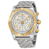 Breitling Men's BTCB011012-G677SS Chronomat 44 Analog Display Swiss Automatic Silver Watch