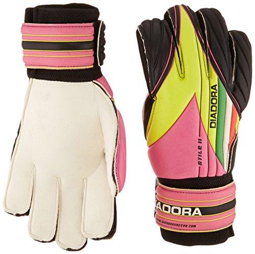 (Diadora Soccer 861013-8718 Stile II Junior Goal Keeper Gloves, 8 )