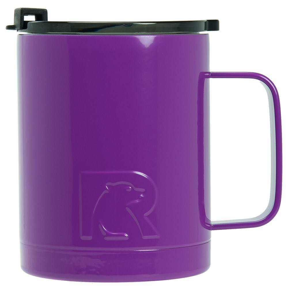 RTIC Double Wall Vacuum Insulated 12oz Coffee Cup (Purple)