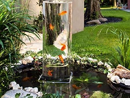 Sockel für Goldfisch-Rohr Fischsäule für 20cm Durchmesser Fischturm