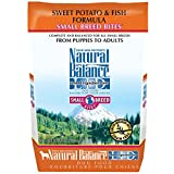 Natural Balance Small Breed Bites L.I.D. Limited Ingredient Diets Sweet Potato & Fish Formula Dry Dog Food, 4.5-Pound