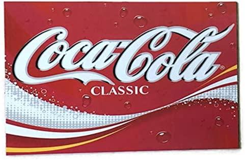 Agilidad Coca Cola Classic Art 1 Vintage Coleccionable imán para ...